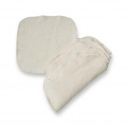 Lingettes coton bio lavables par 10
