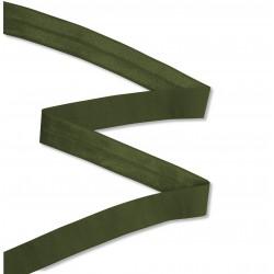 Biais élastique 19mm Vert Kaki