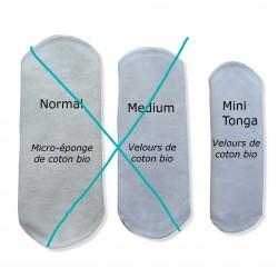 Protège-slip-tonga lavable Velours