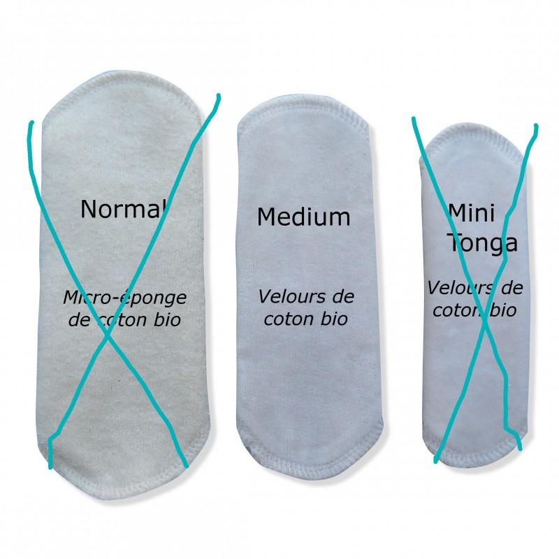 Protège-slip lavable médium Velours