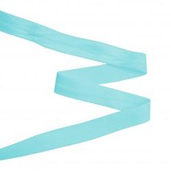 Biais élastique 19mm BLEU TURQUOISE