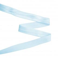 Biais élastique 19mm BLEU CIEL