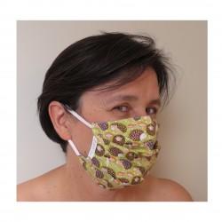 Masque fantaisie hérissons