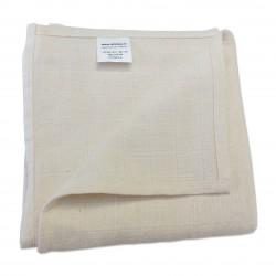 Lange coton bio ecru  70 x 70