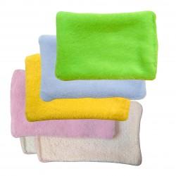 Lingettes lavables T2 multicolore pour bébé