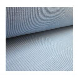 Tissu Maille en rouleau bleu