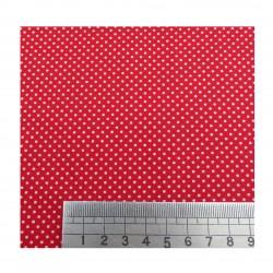 Plumetis rouge échelle